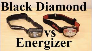 Which headlamp is better? | Black Diamond Spot 325 vs Energizer Headlamp