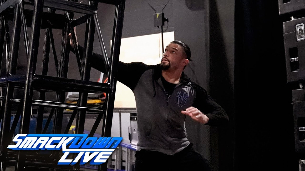 Download Roman Reigns narrowly avoids backstage calamity: SmackDown LIVE, July 30, 2019
