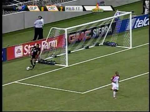 Costa Rica 2 - Guadalupe 0  Primer Tiempo