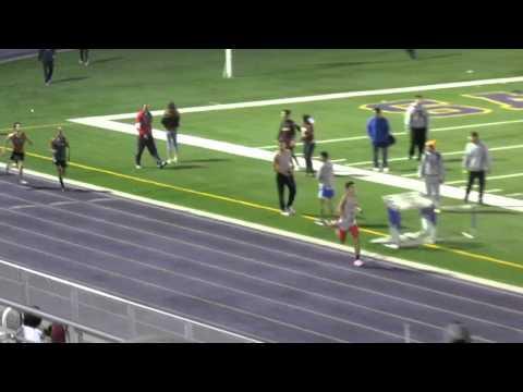 PSJA Southwest Varsity Track 2015 4 X 400 Bobby Morrow Track Meet 2-14-15