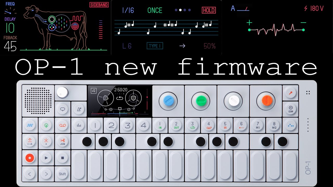 OP-1 Accessory Demo - YouTube