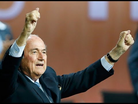 Blatter wins fifth FIFA term as challenger concedes