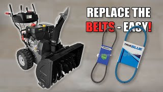 How to Replace Belts on a Snowblower