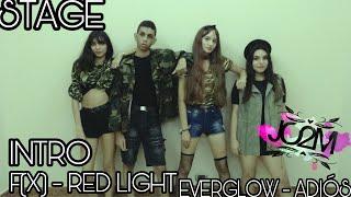 INTRO + f(x) 에프엑스 'Red Light' + EVERGLOW (에버글로우) - Adios _ 2…