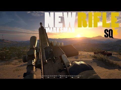 SQUAD - V10 Gameplay  New Designated Marksman Rifle