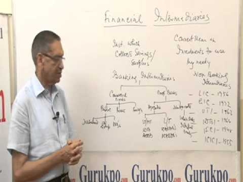 Financial Intermediaries, MBA Lecture by Mr. B. K. Jain.