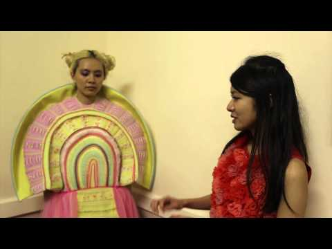 Backstage Interview with ShowReel designer  Vingi Wong | Brighton Fashion Week 2014