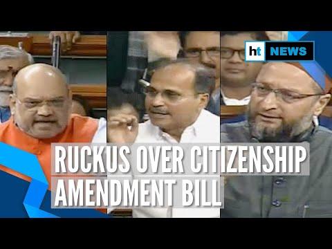Amit Shah tables Citizenship Amendment Bill in Lok Sabha: Who said what