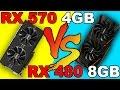RX 570  VS  RX 480  | DX12  AND  DX11 | Comparison