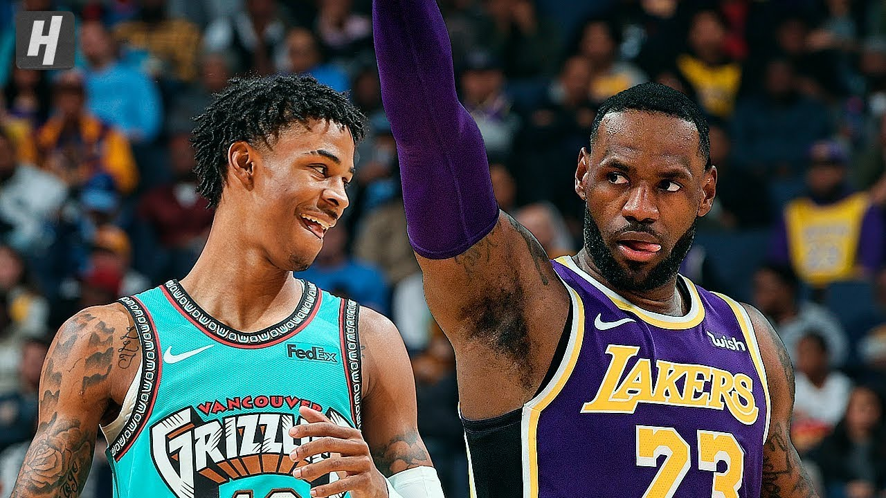 Los Angeles Lakers Vs Memphis Grizzlies Full Game Highlights