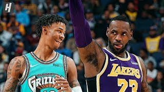 Los Angeles Lakers vs Memphis Grizzlies - Full Game Highlights | November 23 | 2019-20 NBA Season