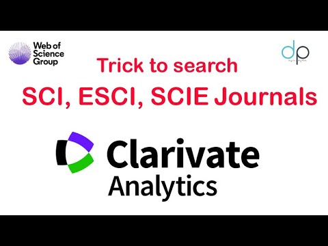 Search SCI Journal In The Easiest Way With Impact Factor | Day On My Plate