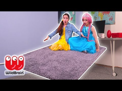 Magic Carpet Ride 🚀 Lilliana's Latest Invention - Princesses In Real Life | WildBrain Kiddyzuzaa