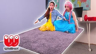 Magic Carpet Ride 🚀 Lilliana's Latest Invention - Princesses In Real Life | WildBrain Kiddyzuzaa
