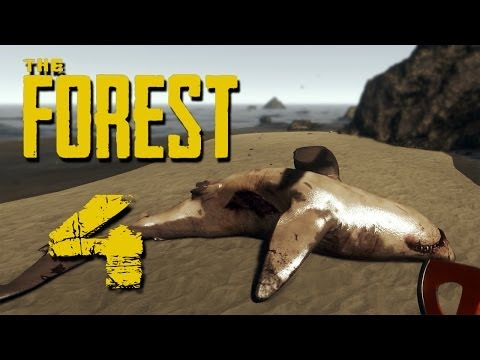 POOR SHARKY | The Forest - Part 4