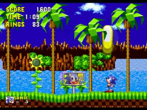 Marble Wallpaper Hd Let S Play Sonic The Hedgehog Green Hill Zone Youtube