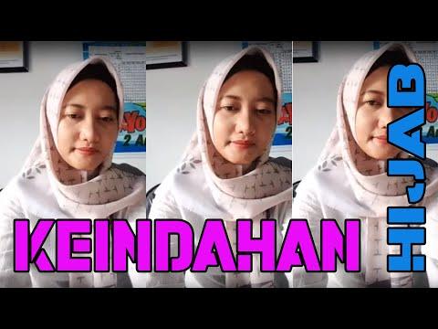 Keindahan Gadis Hijab Style Ibu Pns Belajar Live