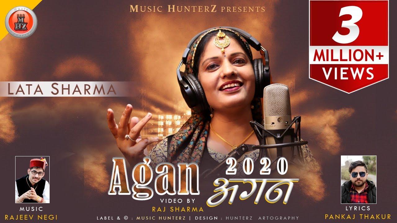 Latest Non Stop Himachali Pahari Video Song - Agan 2020 by Lata Sharma   Music HunterZ