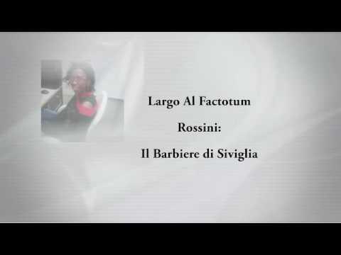 Rossini: Largo al factotum- Il Barbiere di Siviglia lyrics