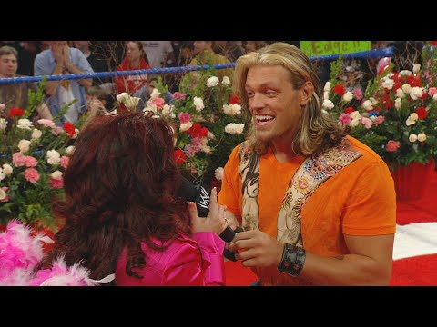 Edge asks Vickie Guerrero to marry him: SmackDown, Feb. 15, 2008