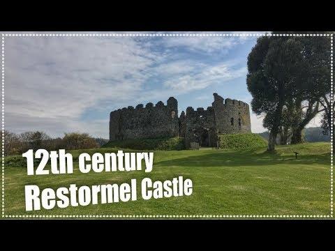 12th century Restormel Castle. Cornwall, U.K.