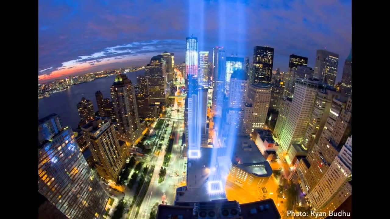 Image result for Images of memorials for 9/11 victims