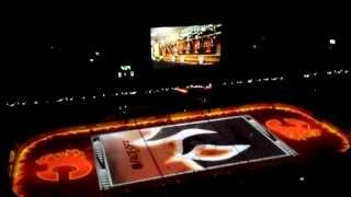 2014-15 Calgary Flames Home Opener Intro Video