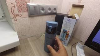 видео Купить термокружку Bodum Travel 0,35л. чёрную в магазине TastyBar