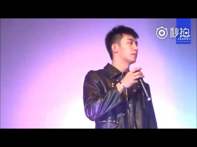 [YuZhou]Huang Jingyu shed tears when Xu Weizhou sing I LOVE YOU
