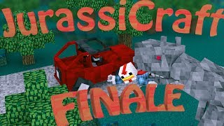 "Finale | ""PARK GONE WRONG"" Minecraft Jurassic Craft Ep 38"
