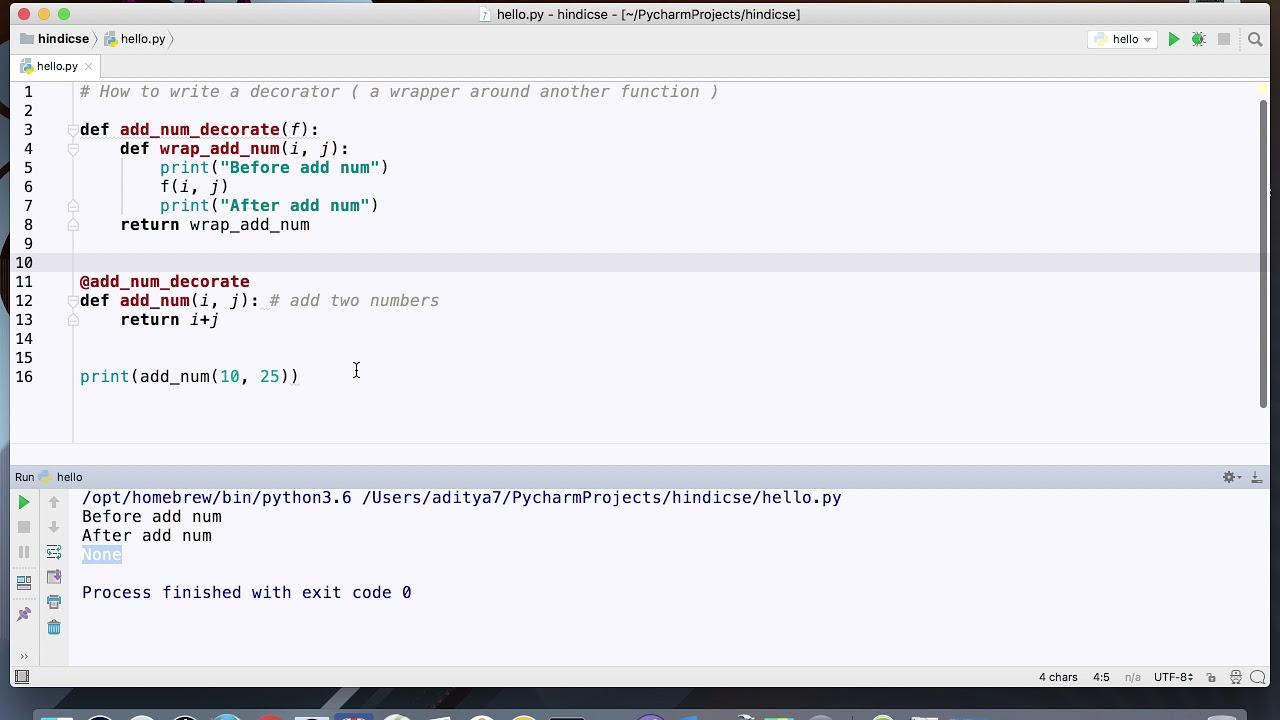 Decorators computer science for Decorator python