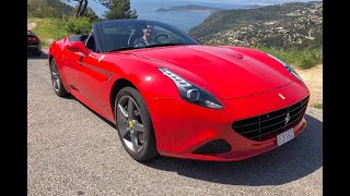 Taking a Ferrari up the mountains and through the tunnels of Monaco