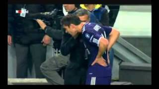 Mourinho instructs Xabi Alonso   Sergio Ramos to get red card Ajax 0   4 Real Madrid