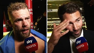 Billy Joe Saunders & Eddie Hearn on possibility of Canelo fight after Coceres knockout