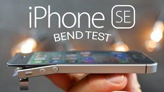 iPhone SE Bend Test!