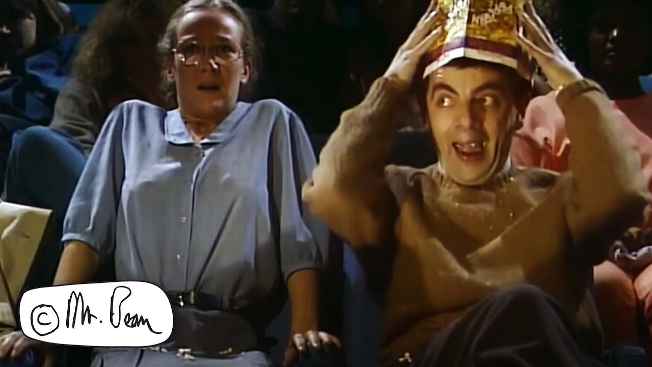 At the Movies | Mr. Bean Official - YouTube