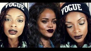Maquiagem Inspiração Rihanna / Rihanna Inspired Makeup Tutorial