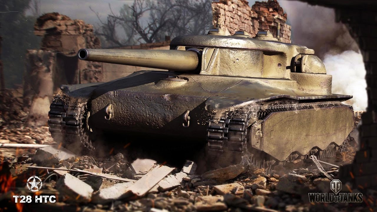 T28 HTC Steals The Show   World of Tanks - YouTube