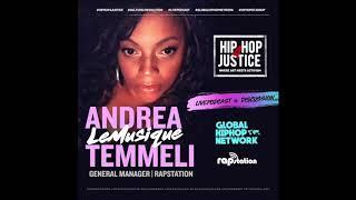 """HIP HOP 4 JUSTICE WELCOMES ANDREA """"LE'MUSIQUE"""" TEMMELI."""
