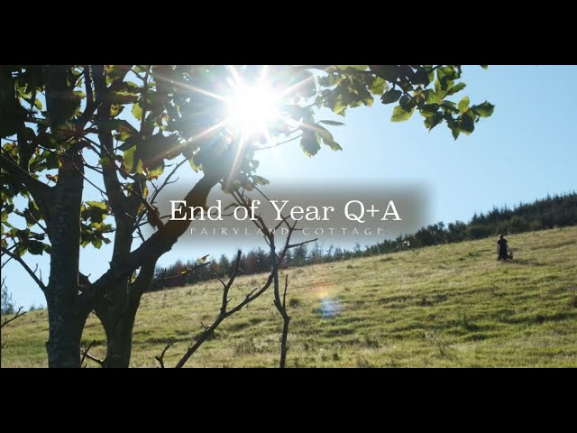 First Ever Q&A - Country Living and Sustainable Living