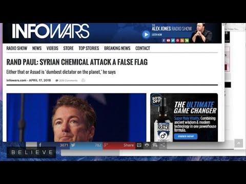 "Senator Rand Paul Says Syria Chemical Attack May Be ""False Flag"" on CNN"