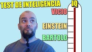 GENIO!!! TEST DE INTELIGENCIA, Y TEST DE RORSCHACH