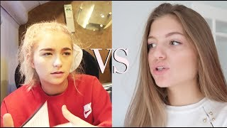 One of Grace Foley's most viewed videos: our first ever argument.....