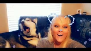Snapchat Howling & Flying!
