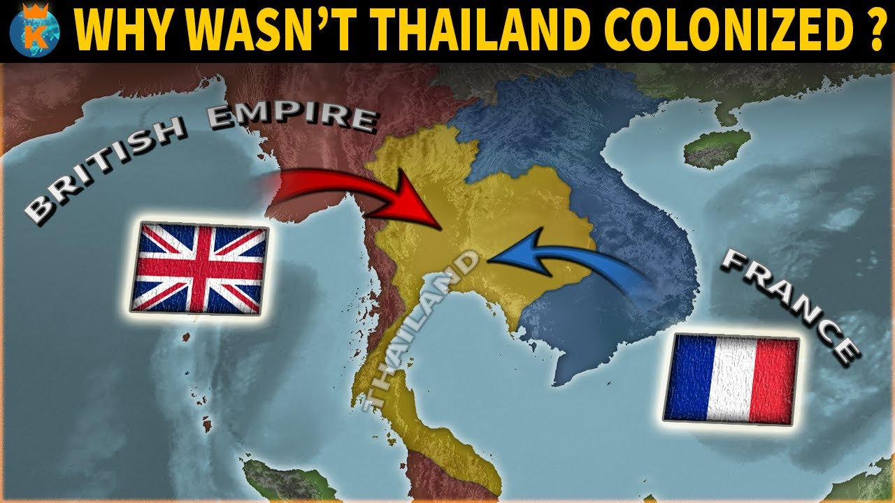 Why wasn't Thailand Colonized?