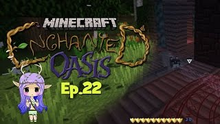 """KITTEN CATASTROPHE"" Minecraft Enchanted Oasis Ep 22"