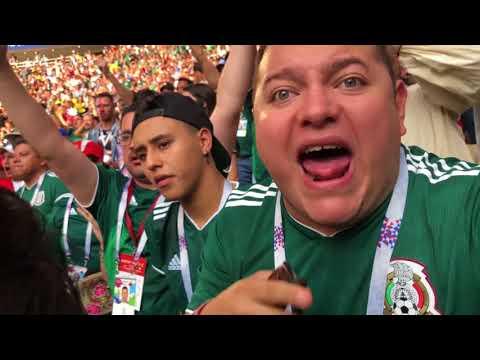 MEXICO VS ALEMANIA - EL MEJOR COLOR