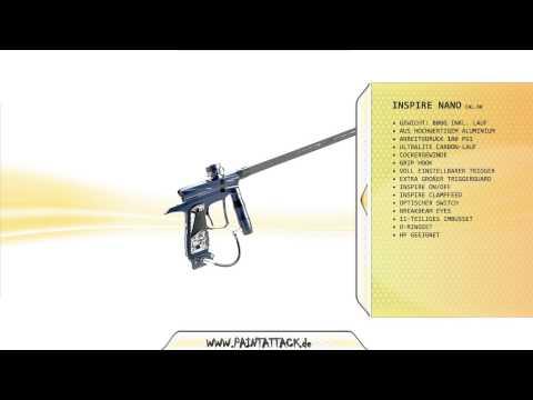 Inspire Nano -  Paintball Markierer - PAINTATTACK - MEIN PAINTBALL SHOP IN BERLIN - Paintball Gun
