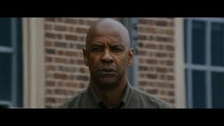 The Equalizer : ending scene cutting head of snake HD
