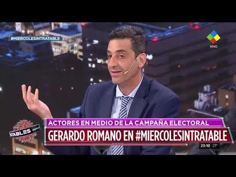 Gerardo Romano en Intratables